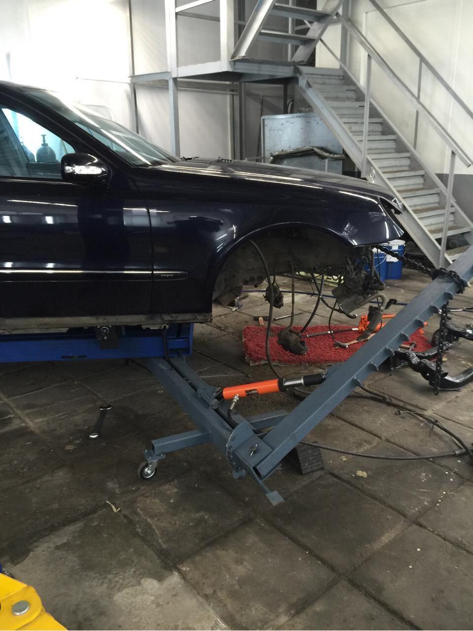 Стапель для кузовного ремонта своими руками 7