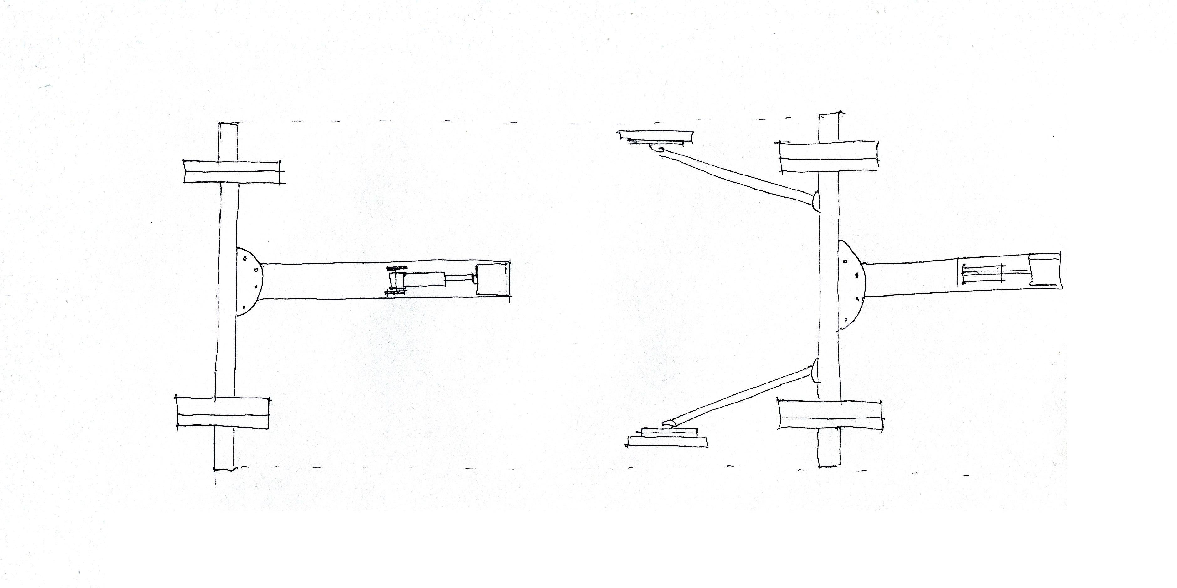 Подкатной стапель для кузовного ремонта размеры чертежи