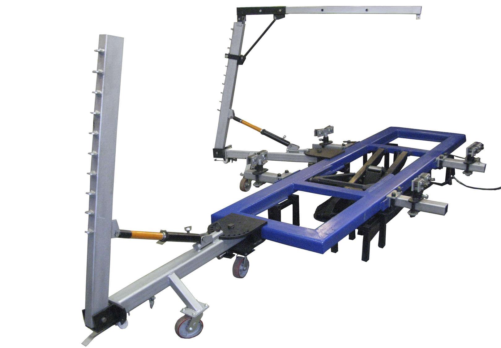 Виды инструмента и оборудования для проведения кузовного ремонта